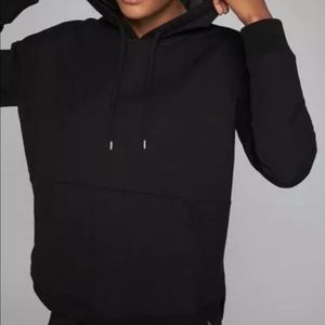 Athleta Black Cityscape Pullover